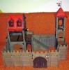 PLAYMOBIL  GROSSE ALTE  RITTERBURG  1977 mit  BAUANLEITUNG (SW)