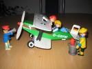 playmobil flugzeug von 1977 mit zubehör
