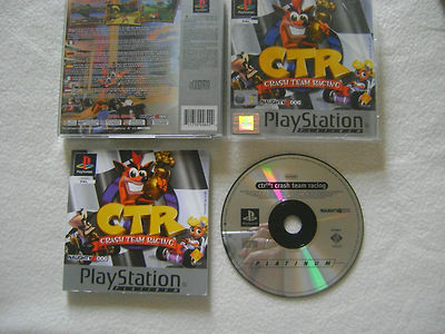Auto Racing Crashes on Crash Team Racing   Complete     Ps1   Psone     Look     Ebay