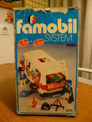 LOTE FURGON IBERIA FAMOBIL DE FAMOSA REFERENCIA 3255 CON CAJA PLAYMOBIL | eBay</title><meta name=