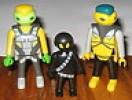 Playmobil Raumfahrt Space Alien-Familie - RAR