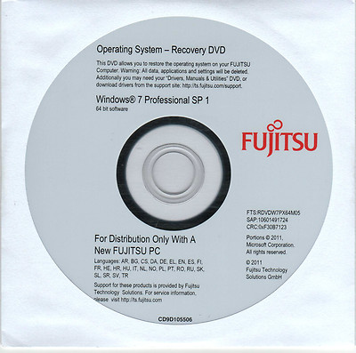 ebay windows 7 professional 64 bit