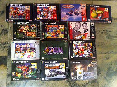Lote De 13 Juegos N64 Nintendo 64 Zelda Banjo Kazooie Dk 64
