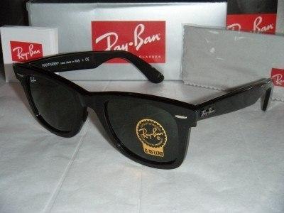 464811404e RAY BAN WAYFARER 2140 Negras-black 50mm   eBay