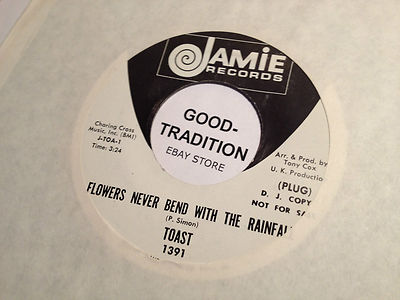 TOAST - FLOWERS NEVER BEND WITH THE RAINFALL/SUMMER MIRANDA DJ PROMO COPY [HEAR] | eBay</title><meta name=