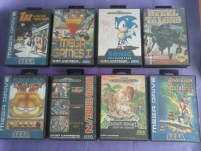 Pack De 8 Juegos De Sega Megadrive Chollo 13 Eur Pujas