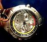 Airrex: Elegante, silberfb. Quartz-Armbanduhr mit Metallband 4QU4123