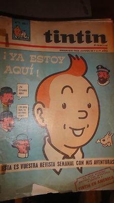 TINTIN COLECCION  REVISTAS EDIT ZENDRERA EN CASTELLANO AÑOS 60 LIQUIDACION!!!