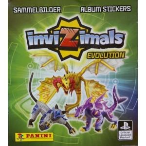 117 CROMOS DE INVIZIMALS EVOLUTION