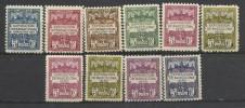 1929-31 sellos de recargo obligatorio en barcelona