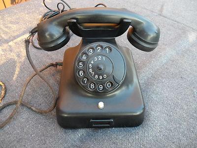 Altes Telefon aus den 50/60er Jahren von DeTeWe