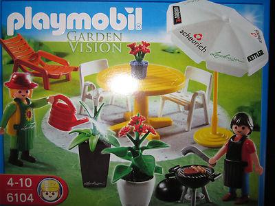 Playmobil Garden Vision _ Garten Set _ Neu OVP _  Nr.6104 _   Special Edition