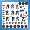 Warhammer 40K Bits Dark Vengeance 10x Dark Angel Tactical Squad