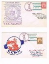USA Navy USS Aylwin 1935 in Spain 2 Covers Santander H07