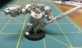 Space Marine Terminator Captain Metal Warhammer 40K