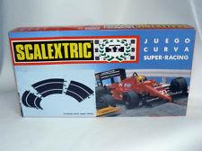 Alfreedom Scalextric Exin Caja Juego Curva Super Racing 3 Tramos Ref 8411 Nuevo