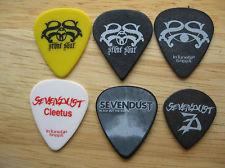 Guitar Pick Set of 6 Stone Sour Sevendust