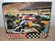 Alfreedom Scalextric Exin Triang Caja Circuito GP 21 Slot Car Circuit Años 60