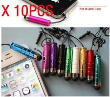10 Mini Metal Universal Stylus Touch Screen Pen for iPhone 3GS 4G 4S iPod iPad 2