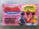Álbum de Cromos de Los Chicles de Bioman 1991