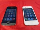 Two Apple iPhone 4 4S Mobile Phones Both Faulty Both Power on Charge