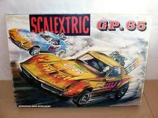 Alfreedom Scalextric Circuito GP 65 Chevrolet Corvette Caja Exterior Rara Exin