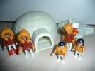 Playmobil 3465 Iglu mit Eskimo Familie