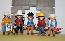 Playmobil lote de Vaqueros Del Oeste