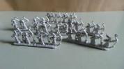 Games Workshop Warhammer Warmaster High Elf Bowmen x24 Very RARE Lot No 46