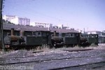 35mm Slide Spain FC Santander A Bilbao Steam Loco 105 109 111 Santander 1969
