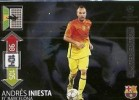 Iniesta Limited Edition Panini Adrenalyn XL Champions League 2012 2013