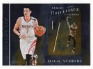 2012 Jeremy Lin Panini Brilliance Magic Numbers Insert Card 13 Knicks Rockets