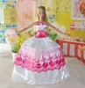 Handmade Party Clothes Fashion Dress for Noble Barbie Doll BA8
