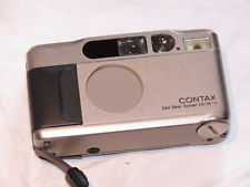 Contax T2 35mm Point and Shoot Camera Zeiss Sonnar 38mm F2 8 Lens Data Back 067215001987