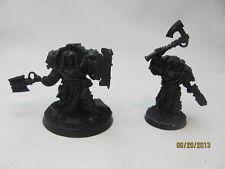 Warhammer 40K Space Marine Librarians X2 Terminator