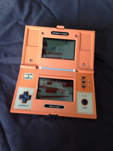 Game Watch Donkey Kong Multi Screen Nintendo 1982