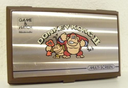 Vtg 1983 Nintendo Donkey Kong II Game Watch Miniature Handheld HH Tested