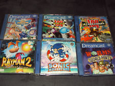6 Sega Dreamcast Spiele z. B.: Worms World Party in OVP + Anleitung PAL